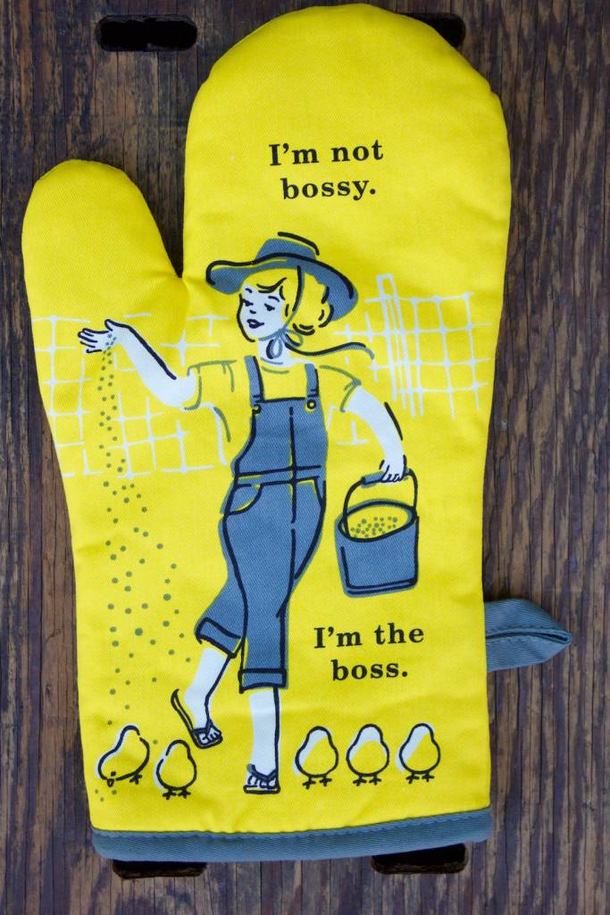 I'm Not Bossy Oven Mitt