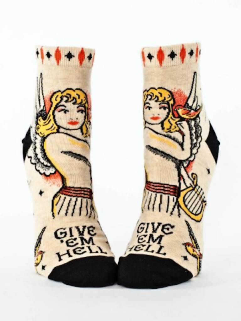 Give 'em Hell Ankle Socks