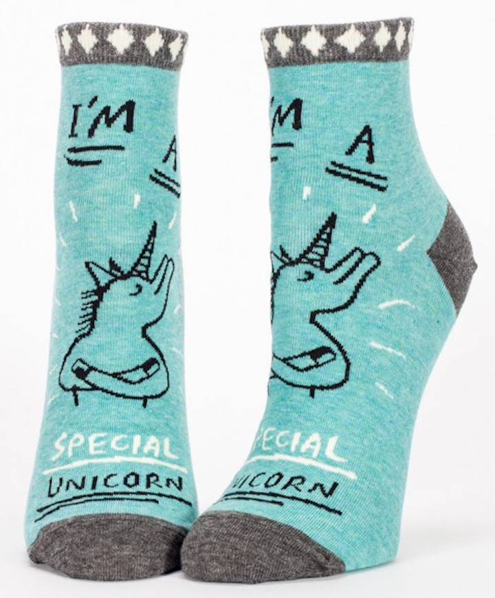 Special Unicorn Ankle Socks