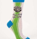Superstar Reporting for Duty Socks