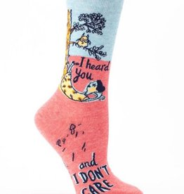 I Don't Care Socks