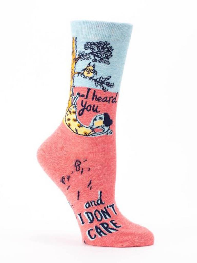 I Don't Care Socks