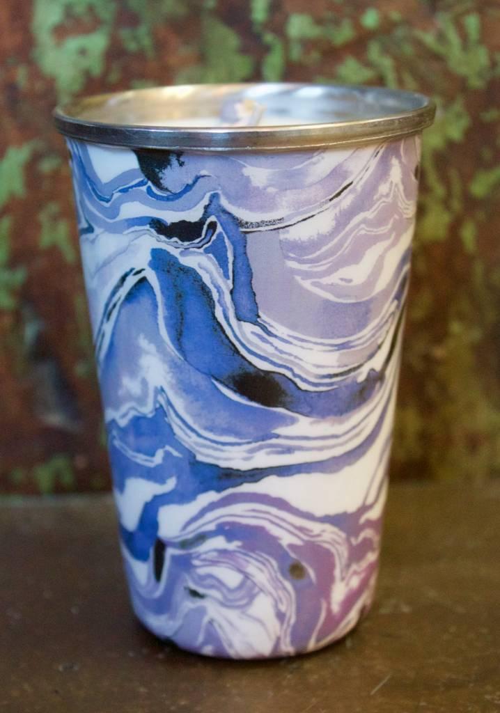 Indica Lavender Enameled Tumbler