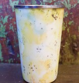 Pineapple Cilantro Enameled Tumbler