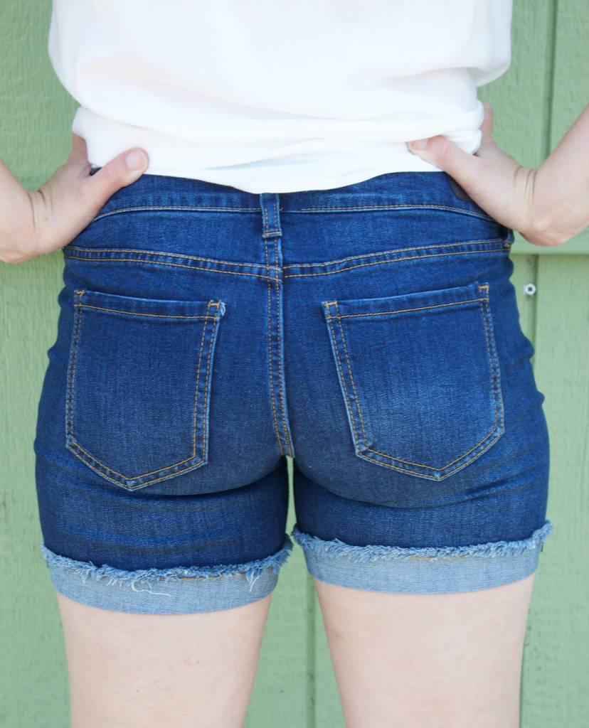 Celebrity Denim Shorts