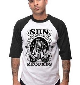 Rockabilly Music Mens Raglan