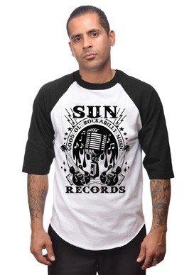 Rockabilly Music Mens Raglan