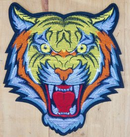 Retro Tiger Tattoo Patch