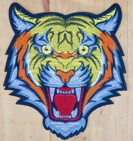 Retro Tiger Tattoo Patch