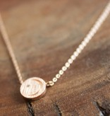 Moon Disc Rose Gold