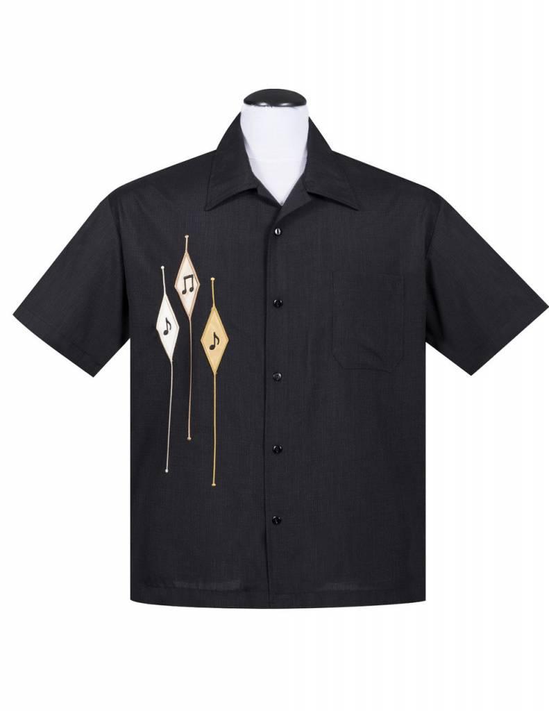 Diamond Note Shirt BLK