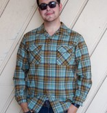 Board Shirt Mint Brn