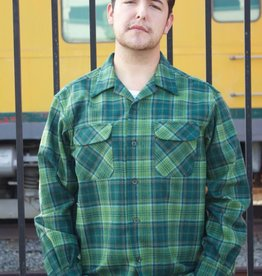 Board Shirt Green Plaid