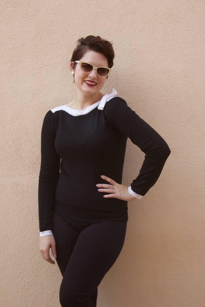 Audrey Classic Black/White
