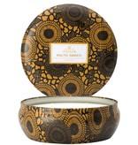 Baltic Amber Large Tin Candle