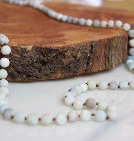 Amazonite Long Beads