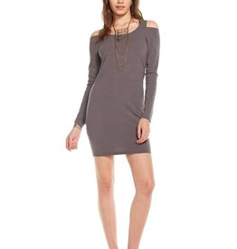 Chaser Shoulder Vent Dress