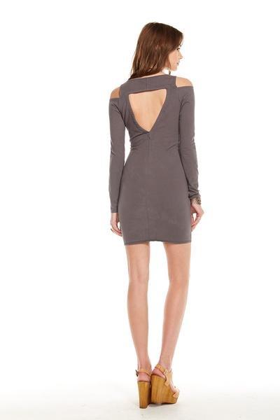 Chaser Shoulder Vent Dress