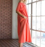 Column Pocket Dress