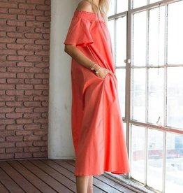 Column Pocket Dress