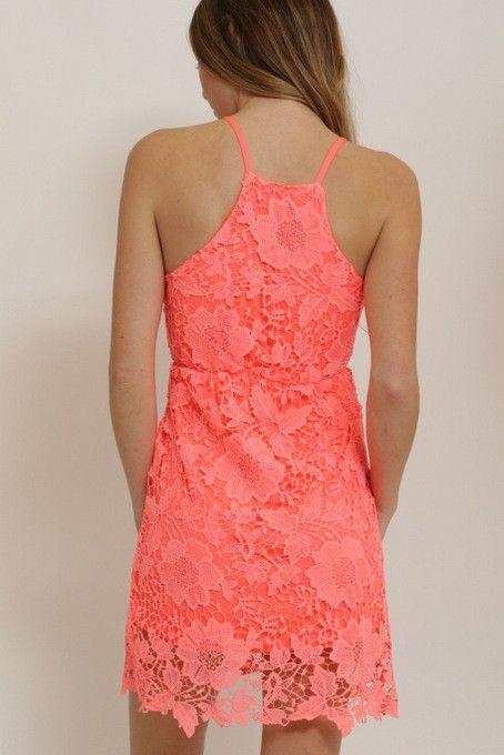 1 Funky Lace Halter Dress