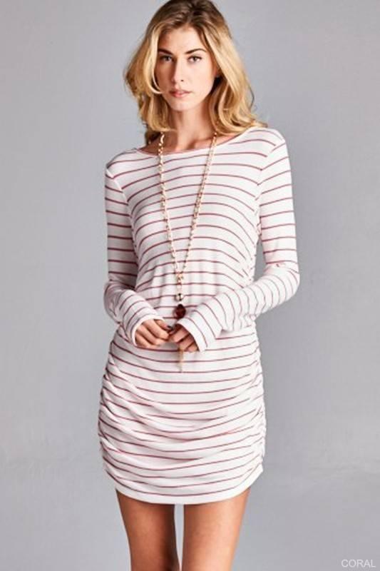 Golden Spirit Thermal Tunic Dress
