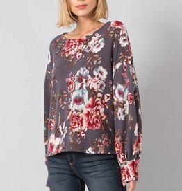 Floral Hacci Sweater