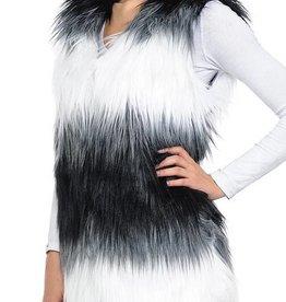 ENK Collection Ombre Faux Vest