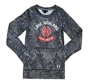 Under Armour UA Youth Patterned Girls Crew ,15