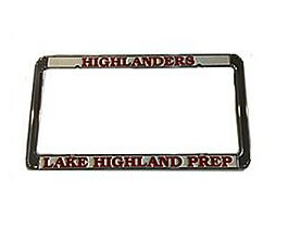Business Apparel Needs,Inc Metal License Plate Frame