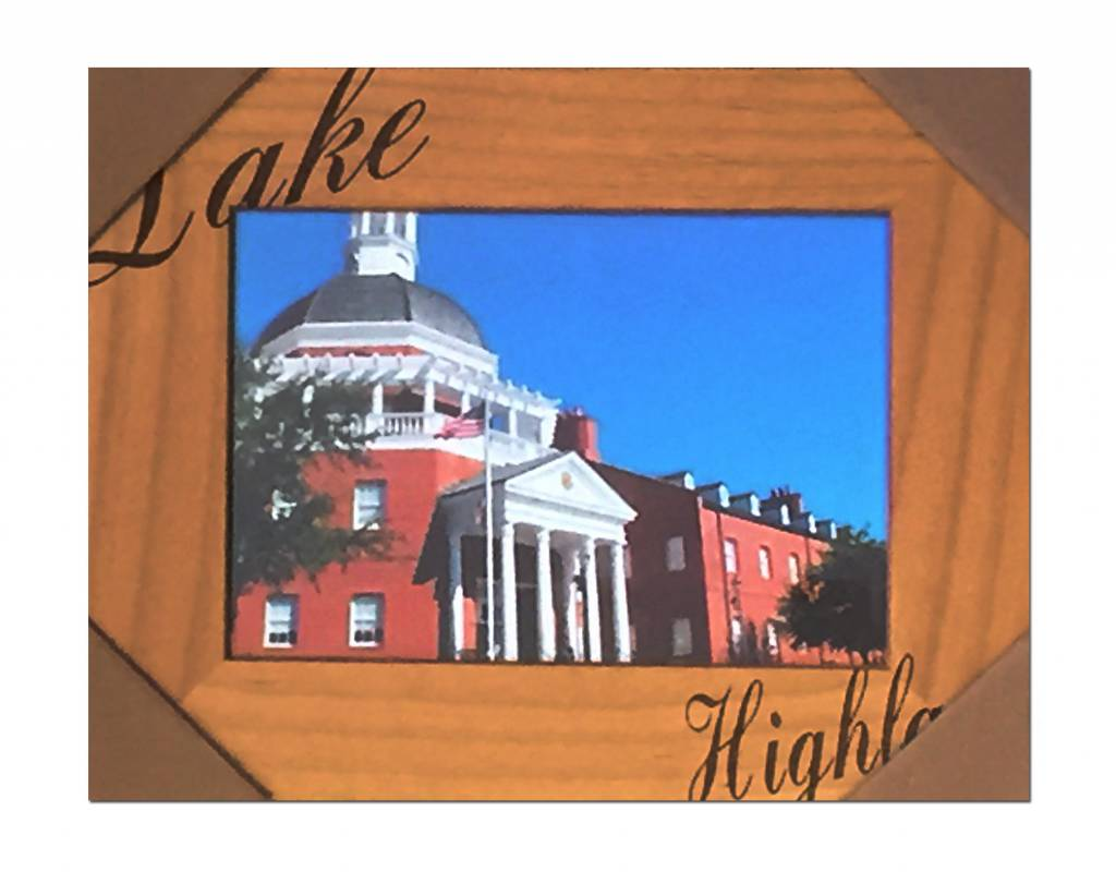 Spirit Products Picture Frame, Wood , Lake Highland, 16