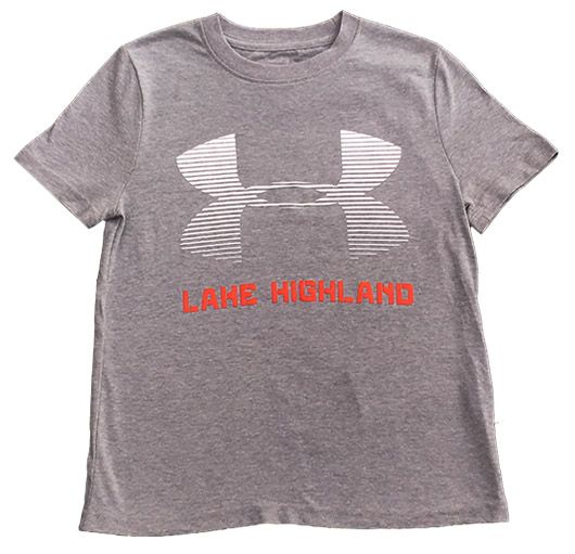 Under Armour Performance Tee SS UA Logo Lake Highland 18
