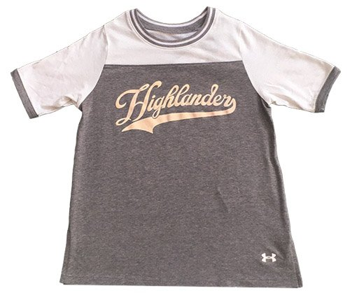 Under Armour UA Girls Pinhole Tee