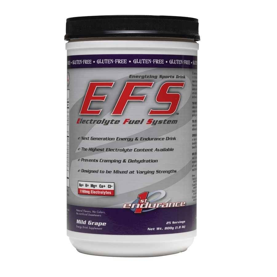 1st Endurance, EFS, 800g, Drink Mix, Grape, 25 servings
