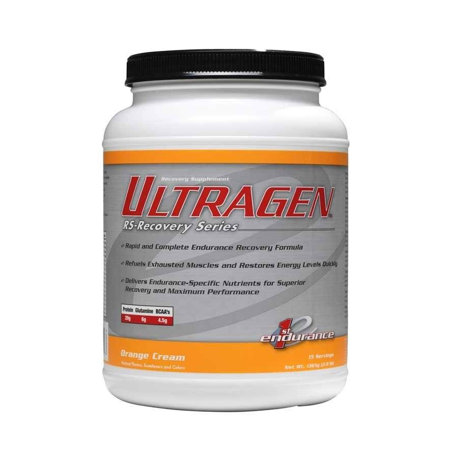 1st Endurance, Ultragen, 1.36kg, Drink Mix, Orange Creamsicle, 15 servings