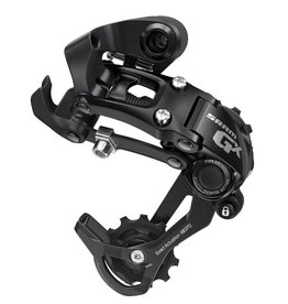 Sram, GX Type 2, Rear derailleur, 10sp., Medium cage, Black