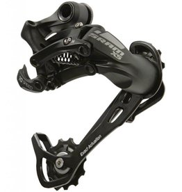 Sram, X5, Rear derailleur, 10sp, Long cage, Black