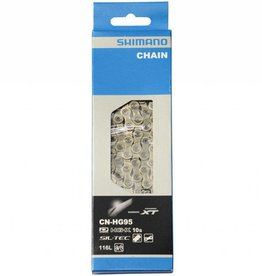 BICYCLE CHAIN, CN-HG95 SUPER NARROW HG FOR MTB 10-SPEED 116