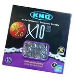 KMC, X10.93 10sp 116L NP/DK Silver
