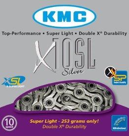 KMC, X10SL 10sp CP Silver 116L