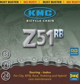 KMC, Z51 Rust Buster, Chain, 6/7/8 speeds, 116 links