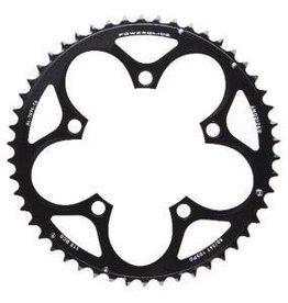 Sram, 38T, 10 sp, BCD 110mm, 5-Bolt, Inner Chainring, For 38/52, Aluminum, Black, 11.6215.197.150