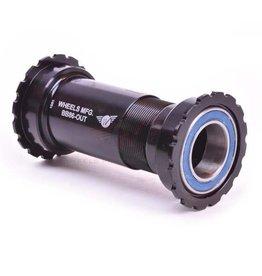 Wheels Manufacturing, PressFit 86/92 ACB, Sram, BB Shell: 86.5mm, Dia.: 41mm, Axle: 24/22mm, ACB, Black, BB86-OUT-SRAMAC