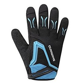 FREE RIDE GLOVE XL BLACK/LIGHTNING BLUE