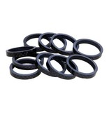 Evo, Carbon headset spacers, 28.6mm, 3K, 10mm, (10X)