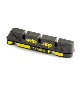 SwissStop SwissStop, FlashPro, Replacement pads for carbon rims, Shimano, Black Prince, Pack of 4