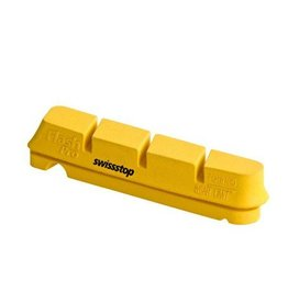 SwissStop SwissStop, FlashPro, Replacement pads for carbon rims, Shimano, Yellow King, Pack of 4
