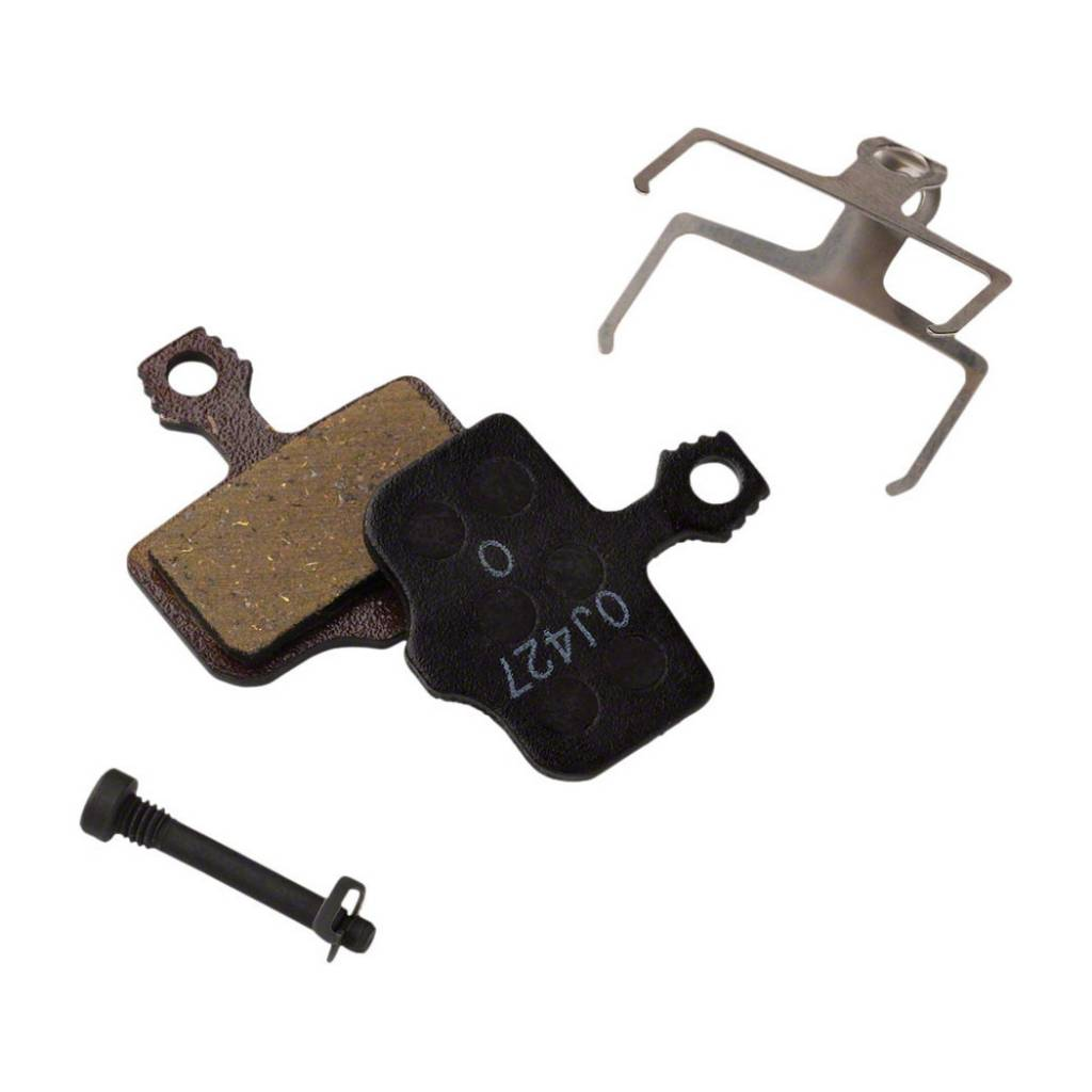 Avid/SRAM, Elixir, DB, Level, Level T, Level TL Disc brake pads, Sintered metal, Steel back plate, pair