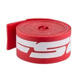 """FSA ATB 26"""" x 17mm Rim Strips Red Nylon Box/10 single"""