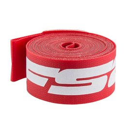 "FSA ATB 26"" x 17mm Rim Strips Red Nylon Box/10 single"